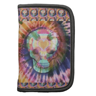 Sugar skull tie die colors beauty from within folio planner