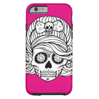 Sugar Skull Tough iPhone 6 Case