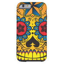 Sugar Skull Tough iPhone 6 Case