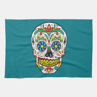Sugar Skull Towels