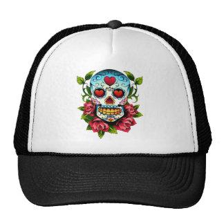 Sugar Skull Trucker Hat
