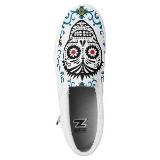 Sugar Skull Voodoo Printed Shoes