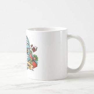 Sugar Skull W/ Glasses Coffee Mug
