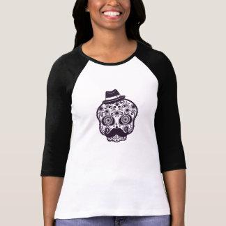 Sugar Skull with Fedora Hat T-Shirt