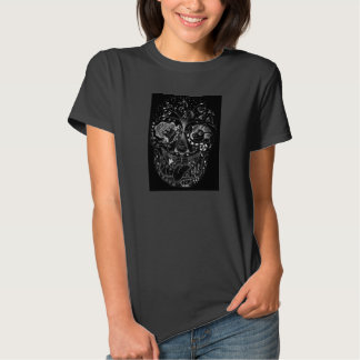 Sugar Skull with Happy Animals T-shirts