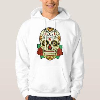 Sugar Skull with Roses Hoodie