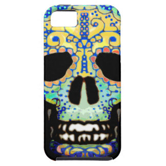 Sugar Skull with Roses iPhone SE/5/5s Case