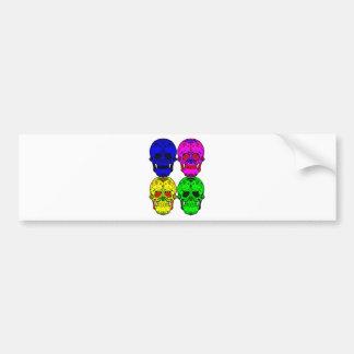 Sugar Skulls Bumper Sticker