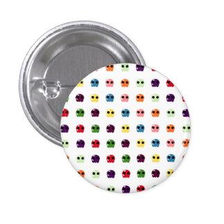 Sugar Skulls 1 Inch Round Button