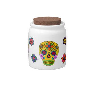 Sugar Skulls Candy Jars