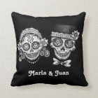 Sugar Skulls Couple Pillow - Customize it!
