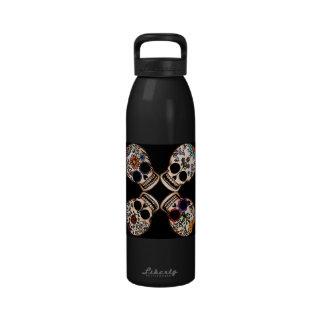 Sugar Skulls Drinking Bottles