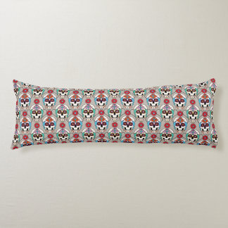 Sugar Skulls Graphic Body Pillow