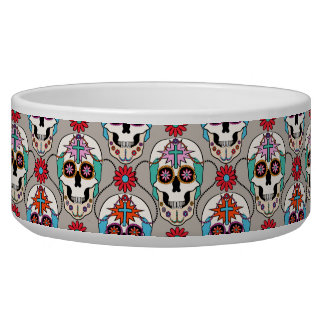Sugar Skulls Graphic Bowl