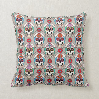 Sugar Skulls Graphic Pillow
