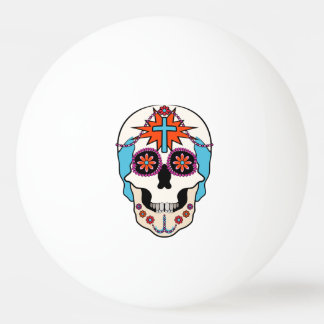 Sugar Skulls Graphic Ping Pong Ball