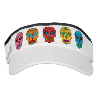Sugar Skulls Headsweats Visor