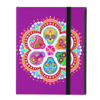 Sugar Skulls iPad 2/3/4 Case (Powis)