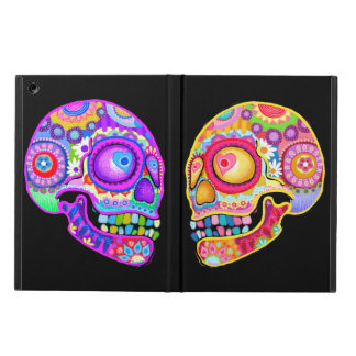 Sugar Skulls iPad Case with Kickstand