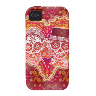 Sugar Skulls iPhone 4/4S Case-Mate Vibe Case iPhone 4/4S Covers