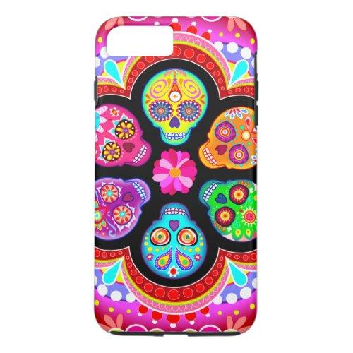 Sugar Skulls iPhone 7 Plus Case Phone Case