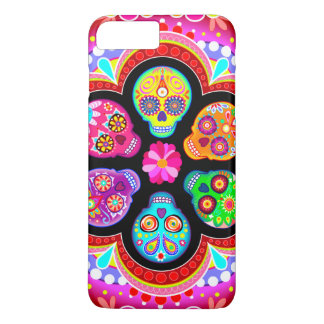 Sugar Skulls iPhone 7 Plus Case