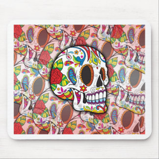 Sugar Skulls Mouse Pad
