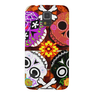 sugar skulls n' bones galaxy s5 case