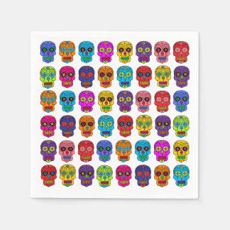 Sugar Skulls Paper Napkin