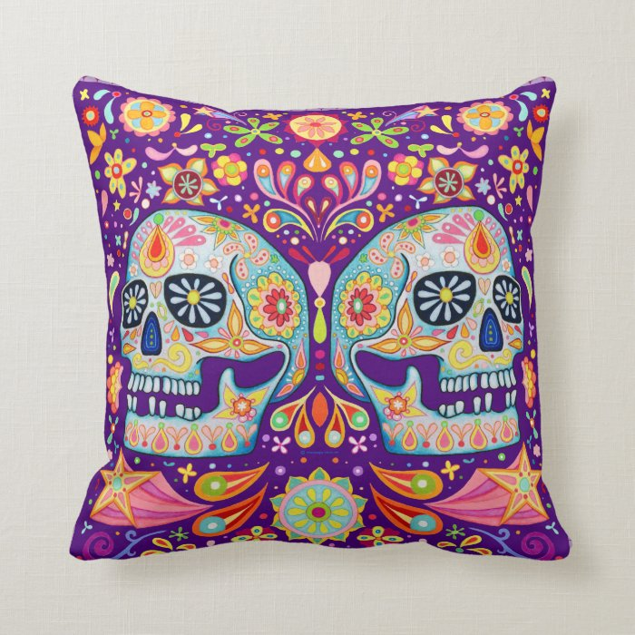 Sugar Skulls Pillow