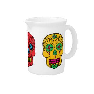 Sugar Skulls Beverage Pitchers
