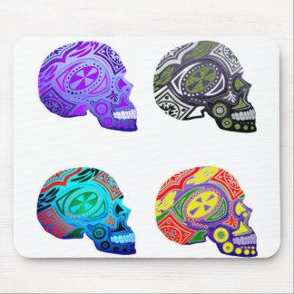 Sugar Skulls - Skeleton Design Mouse Pad