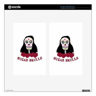 Sugar Skulls Skins For Kindle Fire