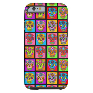 Sugar Skulls Tough iPhone 6 Case