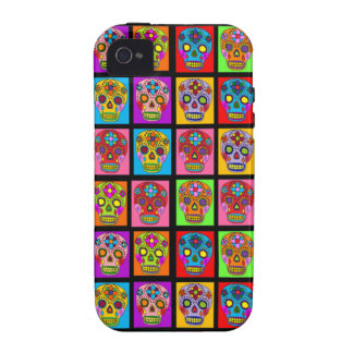 Sugar Skulls Vibe iPhone 4 Cover
