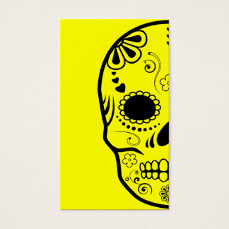 sugar skullz : 1 business card