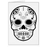 sugar skullz : 1 greeting card