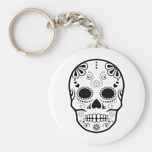 sugar skullz : 1 key chain