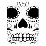 sugar skullz : 1 postcard