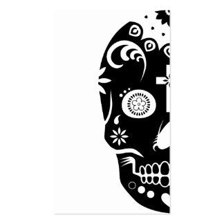 sugar skullz : 2 business card template