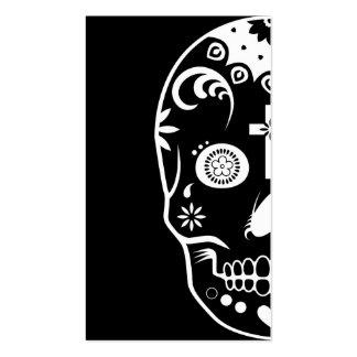 sugar skullz : 2 business card templates