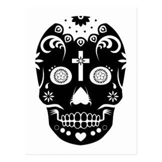 sugar skullz : 2 postcard