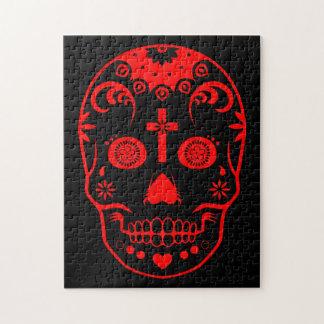 sugar skullz jigsaw puzzle