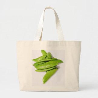 Sugar Snap Peas Canvas Bag