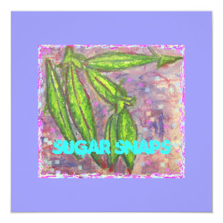 Sugar Snaps Card