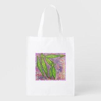 Sugar Snaps Rock Grocery Bags