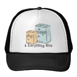 Sugar Spice and everything nice Hats