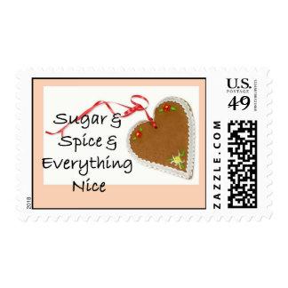 Sugar & Spice & Everything Nice, postage