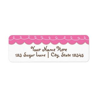 Sugar Spice & Everything Nice Shower Address Label