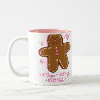 Sugar & Spice Gingerbread Mug mug